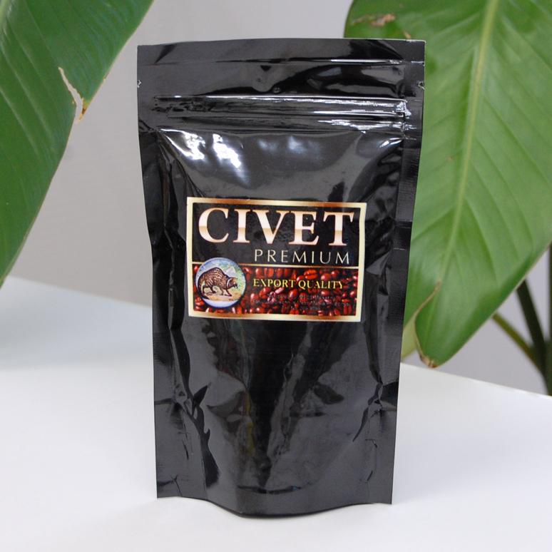 シベットコーヒーパッケージ