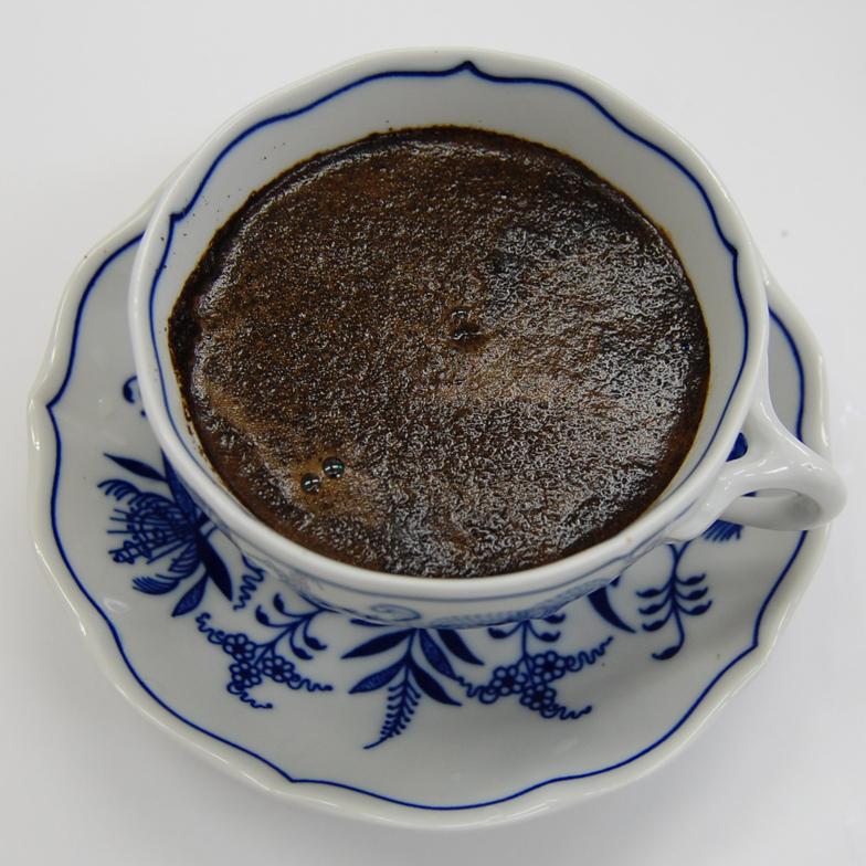 シベットコーヒー細挽き淹れたて