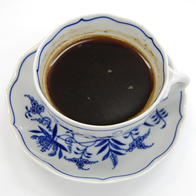 シベットコーヒー細挽き完成